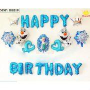 Bộ bóng bay sinh nhật Frozen BB218