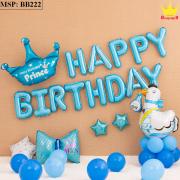 Bộ bóng bay sinh nhật hình Gà BB222