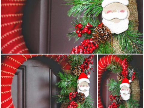 Đón Giáng Sinh Với Vòng Nguyệt Quế Noel Đỏ Rực