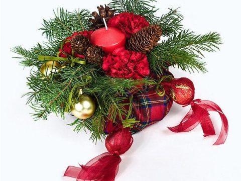Hướng Dẫn Kết Hoa Trang Trí Giáng Sinh Độc Đáo Và Đẹp Mắt