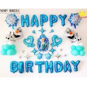 Bộ bóng bay sinh nhật Frozen BB221