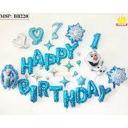 Bộ bóng bay sinh nhật Frozen BB220