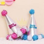 Mũ sinh nhật quả bông MSN04